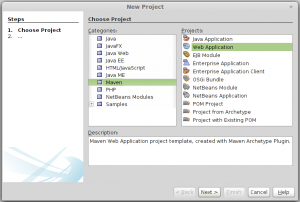 creating new maven project