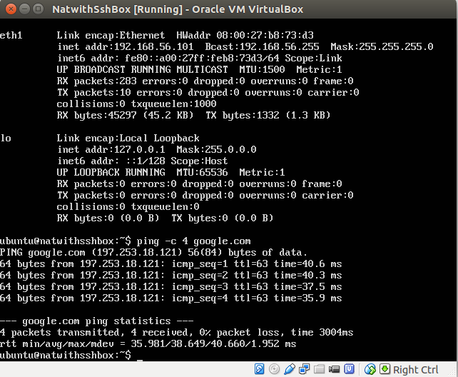How to make virtualbox guest use its host's internet