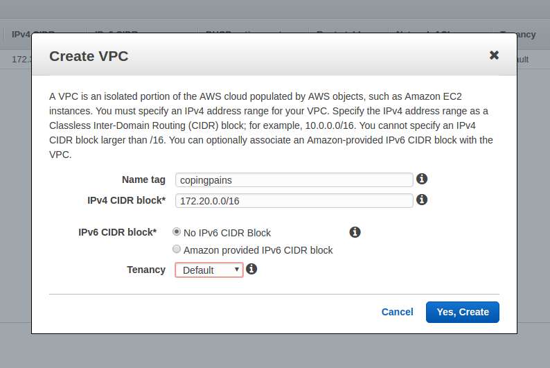 Part 1 :: Configuration on AWS: VyOS | My Coding Pains