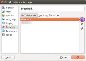 Creating hostonly network
